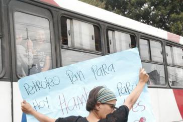 Protest für den Erhalt der Yasuní-ITT-Initiative in Ecuador