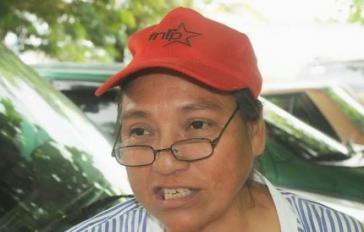 Die ermordete Bauernaktivistin Margarita Murillo