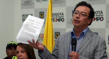 Der Ex-Bürgermeister von Bogotá, Gustavo Petro