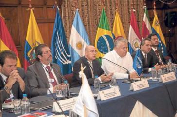 Die Expertengruppe der Unasur-Länder legte ihre Pläne zur Schaffung einer Schlichtungsinstanz dar