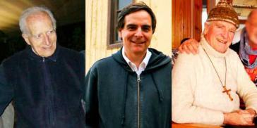 Von links nach rechts: José Aldunate, Felipe Berríos, Mariano Puga