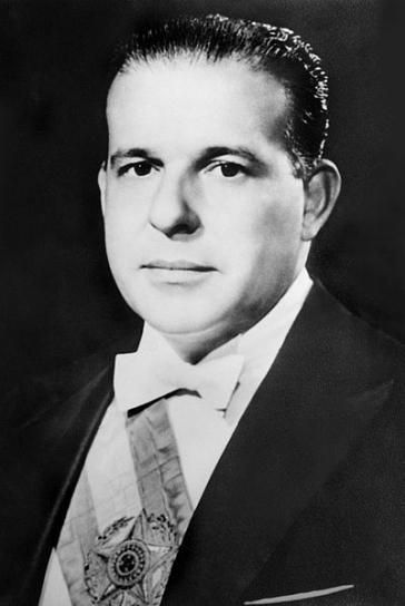 """Der extremen Rechten in Lateinamerika ein Dorn im Auge: João Goulart (""""Jango""""), Brasiliens Präsident 1961 bis 1964"""