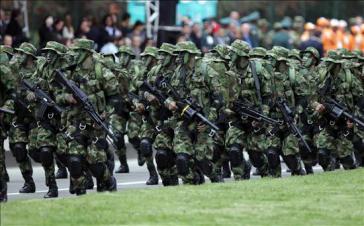 Soldaten der kolumbianischen Streitkräfte.