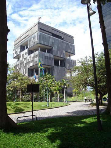 Hauptsitz des Konzerns Petrobras in Rio de Janeiro