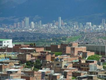 Ciudad Bolívar, ein Stadtteil von Bogotá