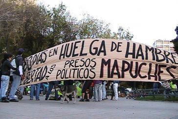 Studenten in Valparaiso protestieren für Mapuche-Gefangene