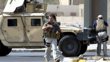 Söldner des privaten Militärunternehmens Academi im Irak