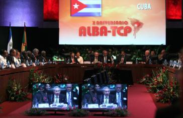 13. ALBA-Gipfeltreffen in Havanna