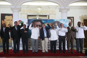 Die Außenminister der ALBA-Länder in Caracas