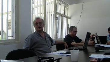 Der Kolumnist Altamiro Borges (li.) bei einem Blogger-Treffen in Brasilien