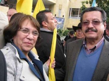 Aída Avella und Carlos Lozano