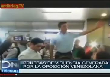 Der lateinamerikanische Nachrichtensender Telesur liefert eine Fülle von Reportagen zu Hintergründen der Ausschreitungen in Venezuela