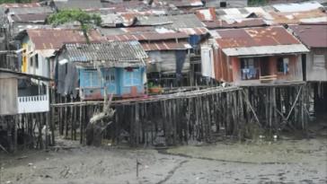 Bajamar, Stadtteil der Hafenstadt Buenaventura