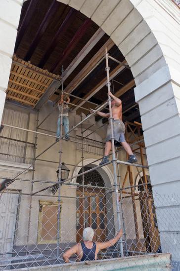 Es gibt viel zu tun: Neben dem Wohnungsbau gehört der Erhalt der Bausubstanz zu Kubas drängendsten Problemen