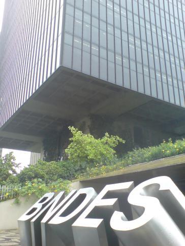 Hauptsitz BNDES-Bank im Zentrum von Rio de Janeiro