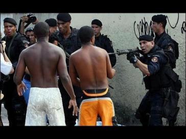 Einsatz der Spezialeinheit BOPE in den Favelas von Rio de Janeiro