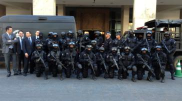 Für das Bundesinnenministerium Garant für bürgerrechtliches Vorgehen: Die Batalhão de Operações Policiais Especiais (BOPE)