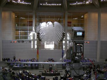 Plenum des Bundestags