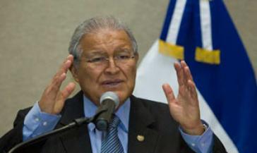 Präsident von El Salvador, Salvador Sánchez Cerén.
