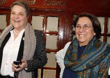 Vereint für die Präsidentschaftswahlen im Mai: Clara López Obregón und Aida Avella
