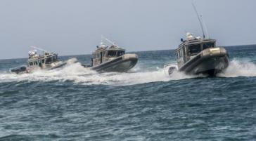 """Küstenwache karibischer Staaten im Rahmen der Operation """"Tradewind 2014"""""""