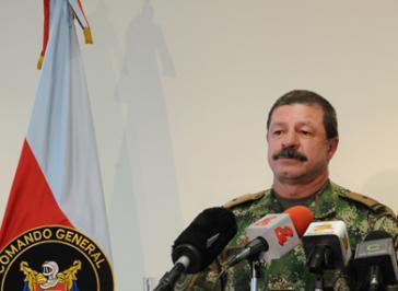 Javier Alberto Flórez Aristizábal, Chef des Generalstabes der kolumbianischen Armee