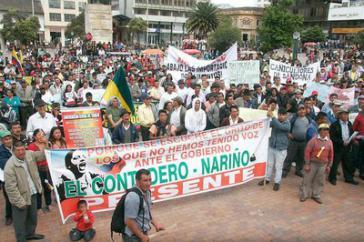 Rund 100.000 Bauern in 15 kolumbianischen Departments folgten dem Aufruf der zum Agrarstreik