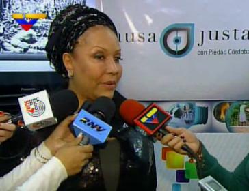 Die Friedensaktivistin Piedad Córdoba