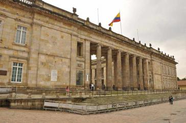 Das Kongressgebäude in Bogotá