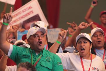 """Der GPP definierte sich bei dem Kongress als """"antikapitalistisch, internationalistisch, sozialistisch und feministisch"""""""