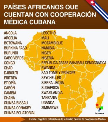 Kubanische Ärzte arbeiten in zahlreichen afrikanischen Ländern