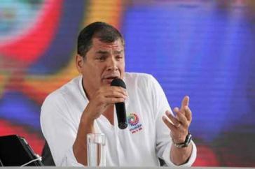 Überdenkt seine Haltung zu einer weiteren Amtszeit: Ecuadors Präsident Rafael Correa