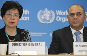 WHO-Chefin Chan und Kubas Gesundheitsminister Morales