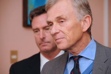 David McKean, Chef für politische Planung im US-Außenministerium, bei seinem Besuch in Montevideo