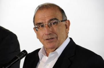 Wurde ausspioniert: Humberto de la Calle, Delegationsleiter von Kolumbiens Regierung bei den Friedensgesprächen mit den FARC