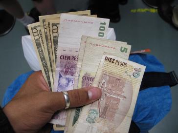 US-Dollar und Peso dürfen jetzt wieder getauscht werden