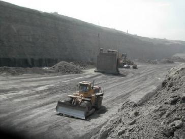Tagebau in Kolumbien