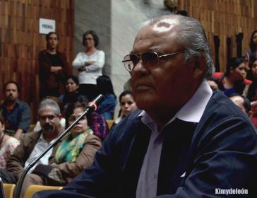 Der Angeklagte: Pedro García Arredondo vor Gericht