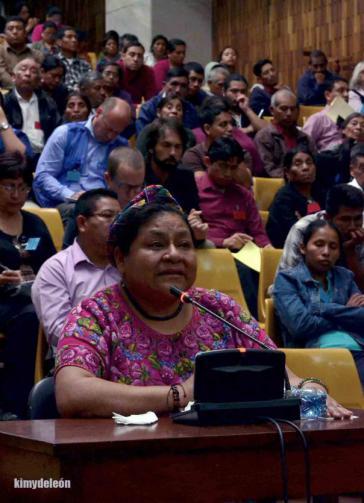 Rigoberta Menchú sagt als Zeugin aus