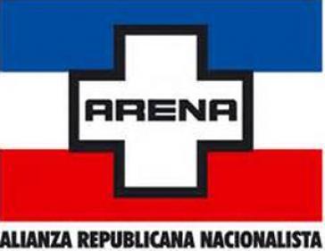 Das Parteiemblem von ARENA