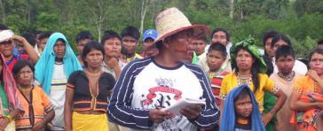 Angehörige der Embera Katío im Departement Chocó