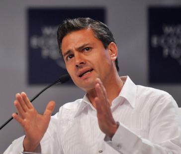 Die Reform geht auf seine Initiative zurück: Mexikos Präsident Enrique Peña Nieto