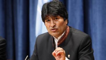 Will nur mit sozialen Bewegungen über das Regierungsprogramm diskutieren: Boliviens Präsident Evo Morales