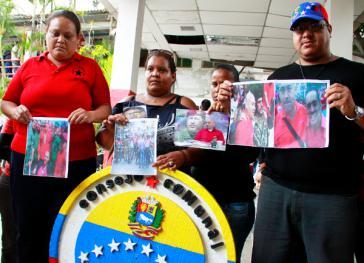 Angehörige von José Odreman und Michel Contreras fordern die Aufklärung des Polizeieinsatzes