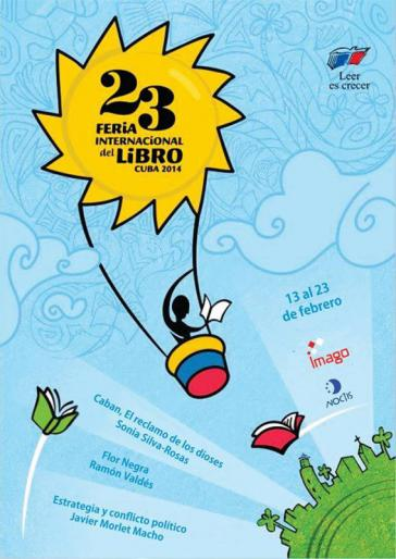 Die 23. internationale Buchmesse in Havanna findet vom 13. bis zum 23. Februar 2014 statt