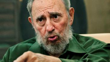 Kritisiert Gaza-Krieg Israels: Fidel Castro