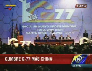 G-77-Gipfel in Bolivien