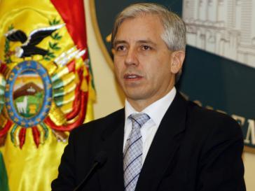 Boliviens Vizepräsident Álvaro García Linera