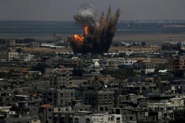 Die israelischen Streitkräfte haben nach Angaben der UNO seit Mitte Juni 700 Luftangriffe auf den Gaza-Streifen durchgeführt