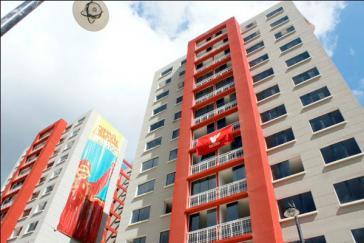 """Im Rahmen der """"Gran Misión Vivienda Venezuela"""" erstellte Wohnhäuser in Caracas"""